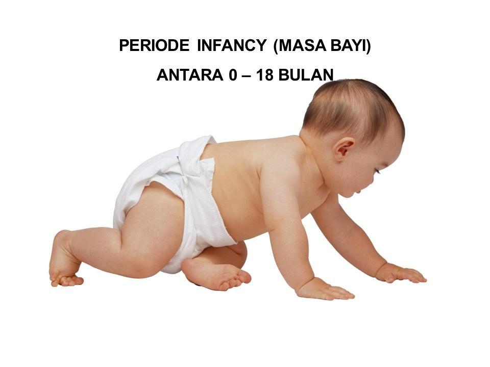 PERIODE INFANCY (MASA BAYI) ANTARA 0 – 18 BULAN