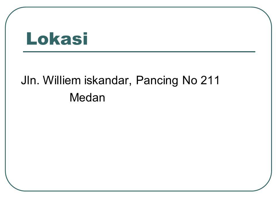 Lokasi Jln. Williem iskandar, Pancing No 211 Medan