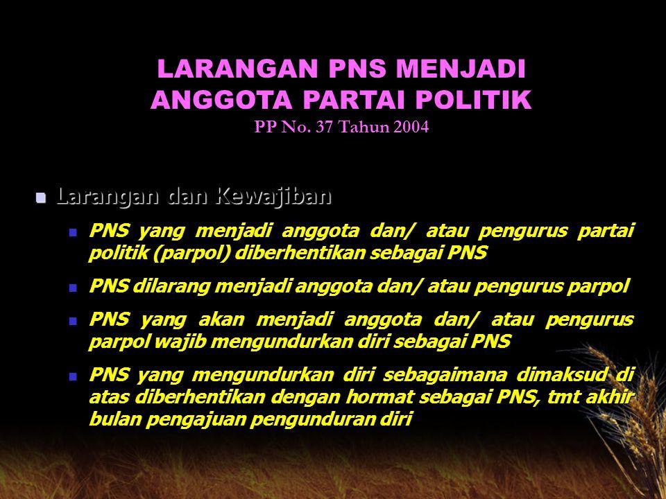 Lain-lain 1.Untuk menghindarkan kerugian keuangan negara, maka perkara yang menyebabkan PNS dikenakan pemberhentian sementara harus diperiksa dalam wa