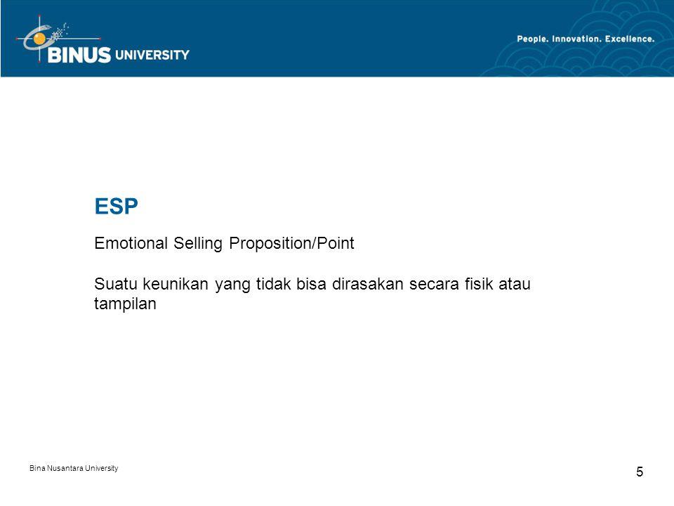 Bina Nusantara University 6 Rational Benefit Kenapa kamu beli BB.