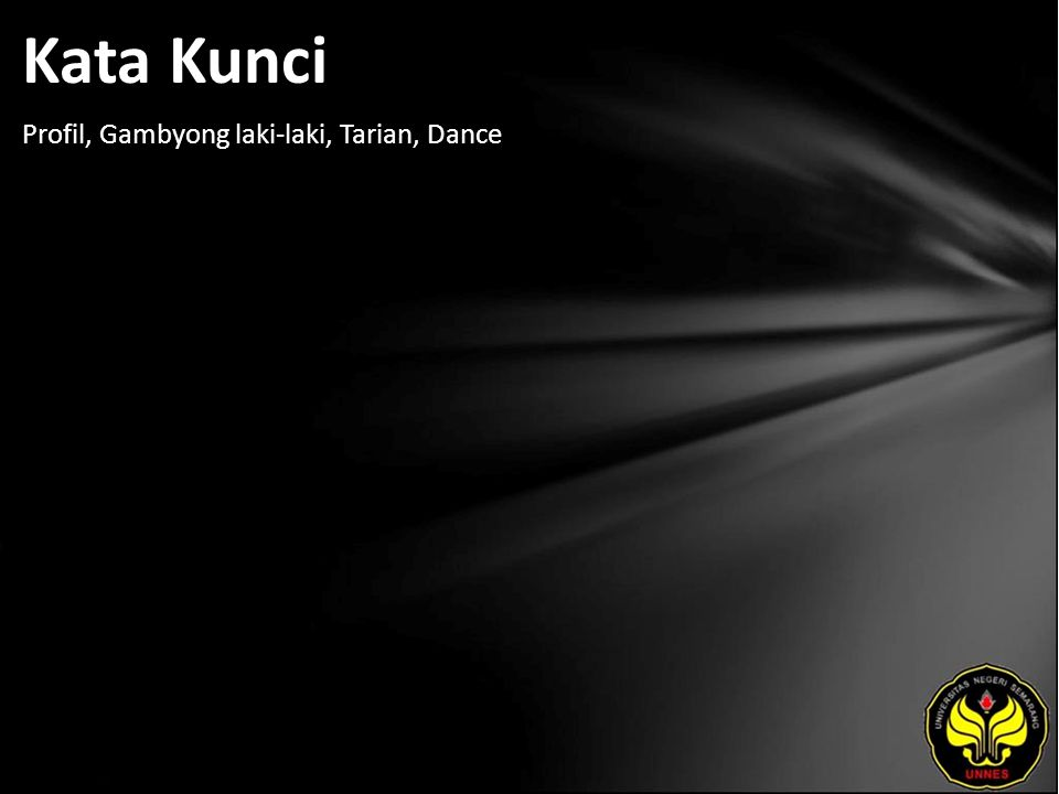Kata Kunci Profil, Gambyong laki-laki, Tarian, Dance