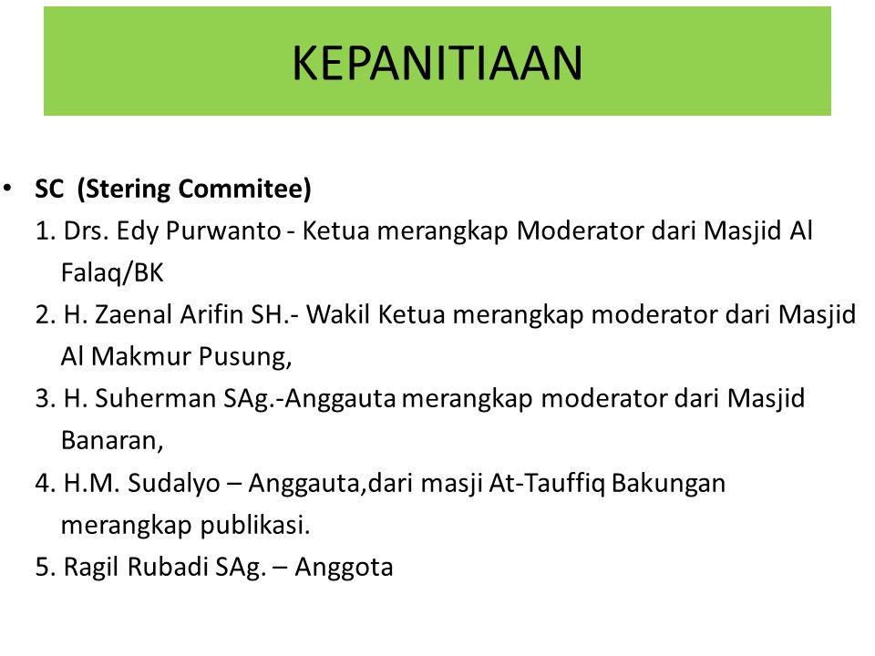 KEPANITIAAN OC (Organizing Commitee) 1.Ramadhian AT.