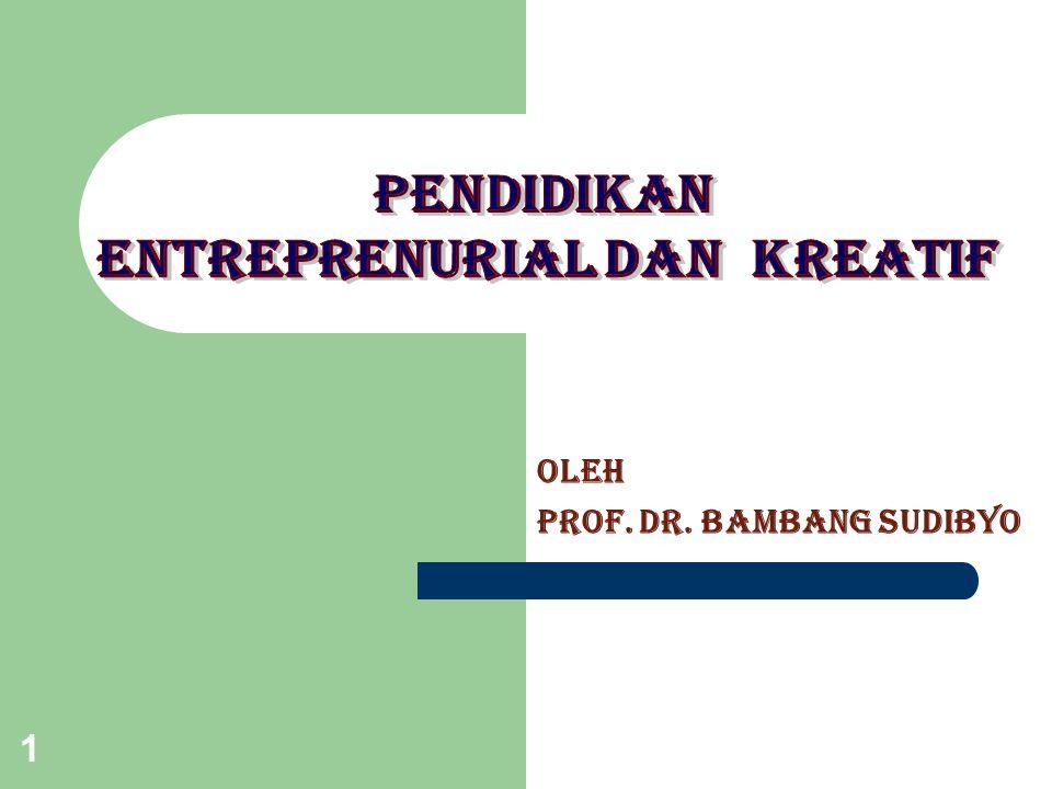1 OLEH Prof. dr. BAMBANG SUDIBYO
