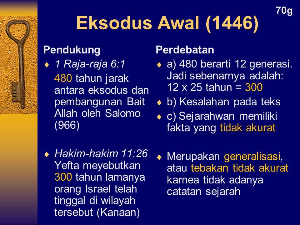 Perdebatan  a) 480 berarti 12 generasi.