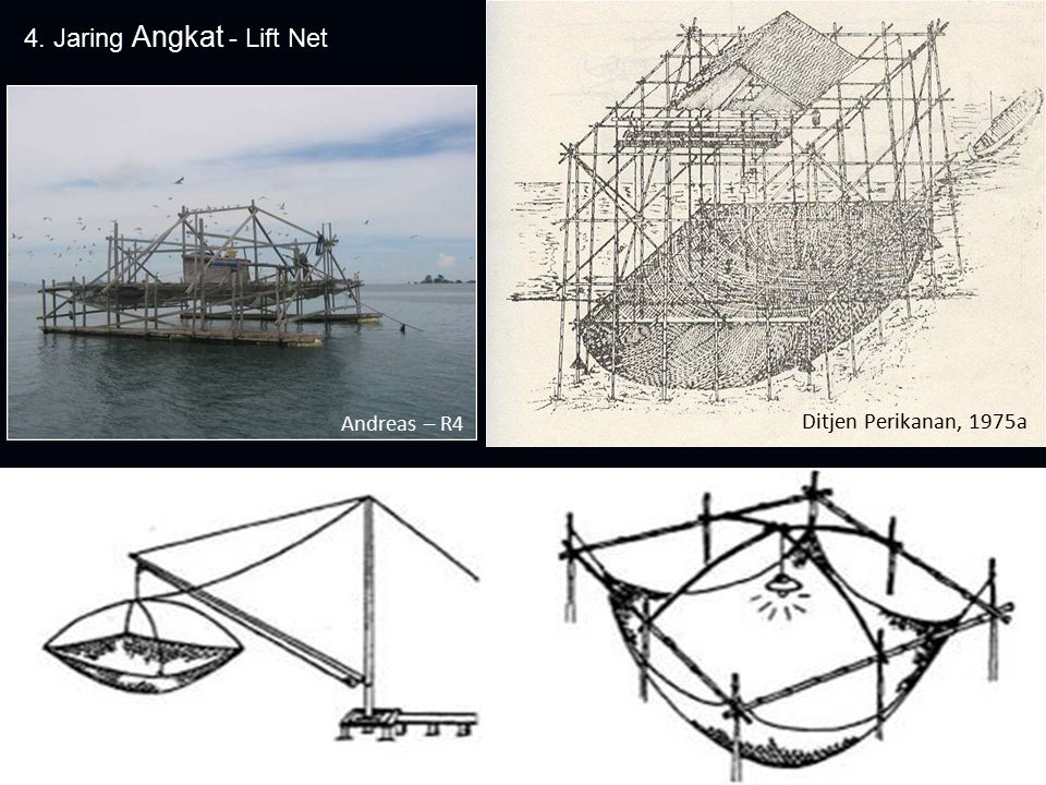 4. Jaring Angkat - Lift Net Ditjen Perikanan, 1975a Andreas – R4