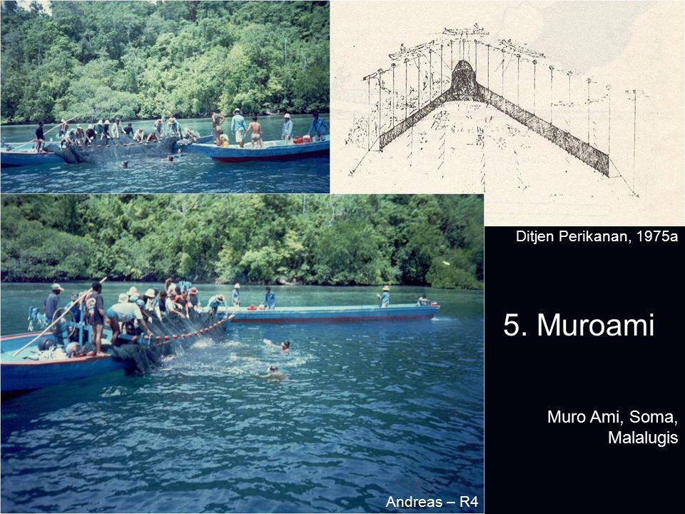 Muro Ami, Soma, Malalugis 5. Muroami Ditjen Perikanan, 1975a Andreas – R4