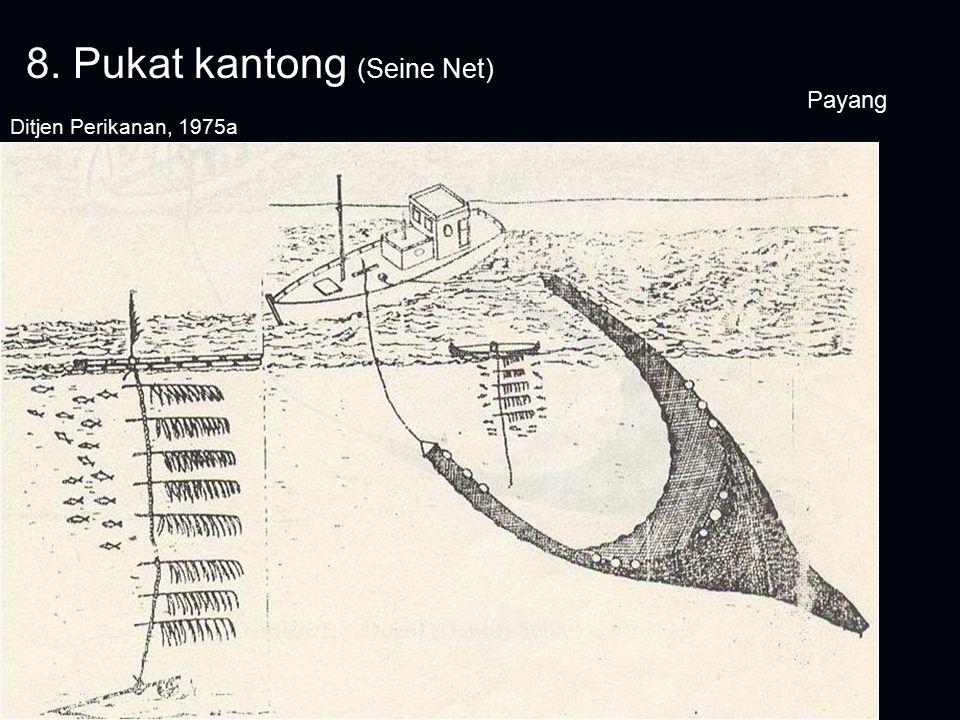 8. Pukat kantong (Seine Net) Payang Ditjen Perikanan, 1975a