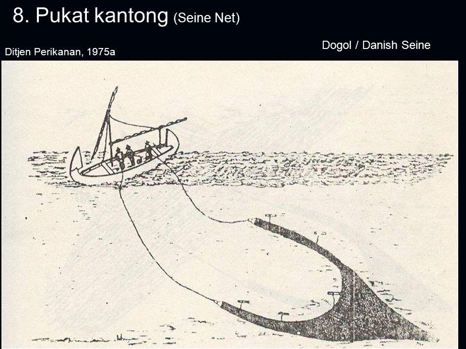 8. Pukat kantong (Seine Net) Dogol / Danish Seine Ditjen Perikanan, 1975a