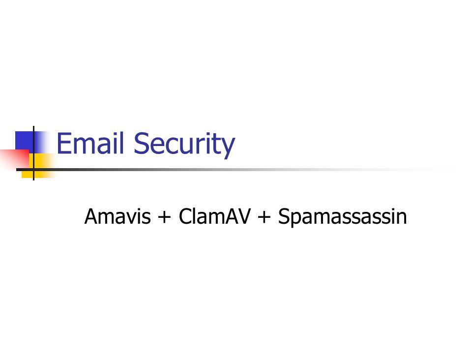 Overview Pengertian SPAM Diagram Blok Amavis Clam-AV SpamAssassin