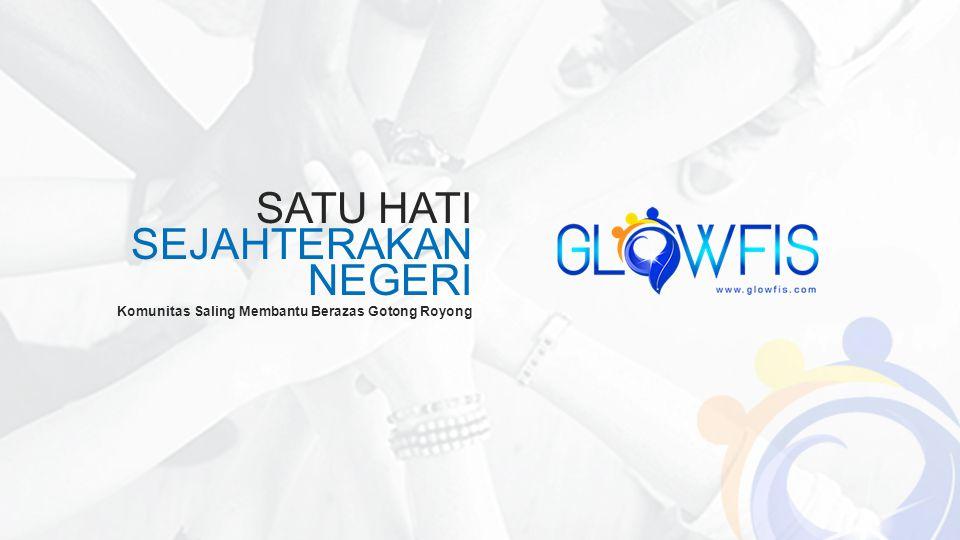 SATU HATI SEJAHTERAKAN NEGERI Komunitas Saling Membantu Berazas Gotong Royong