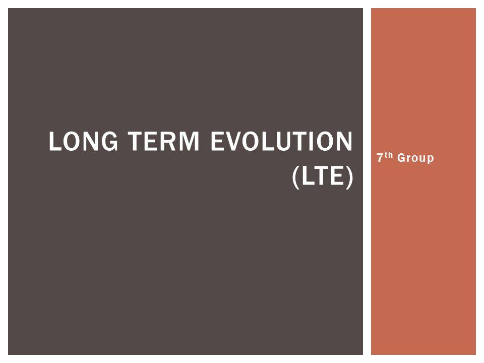  LTE-Advanced (LTE-A) adalah nama proyek dari versi evolusi dari LTE yang sedang dikembangkan oleh 3GPP.