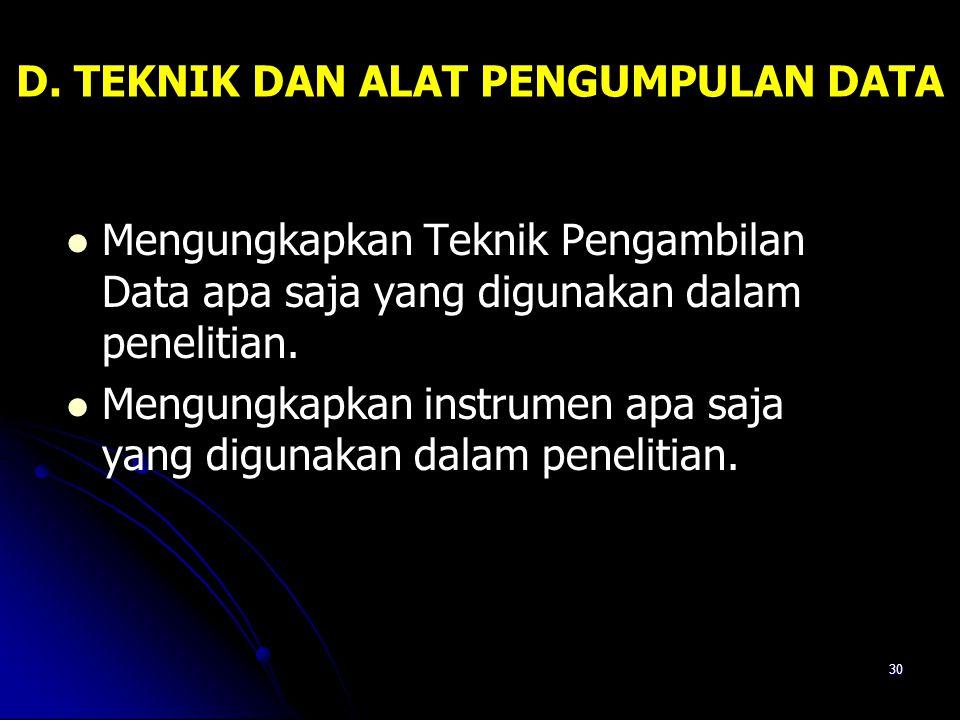 29 Sumber Data Sumber data dari penelitian ini meliputi: a. Responden, yaitu seluruh siswa Madrasah Tsanawiyah Ismaili Kambat Selatan Kecamatan Pandaw
