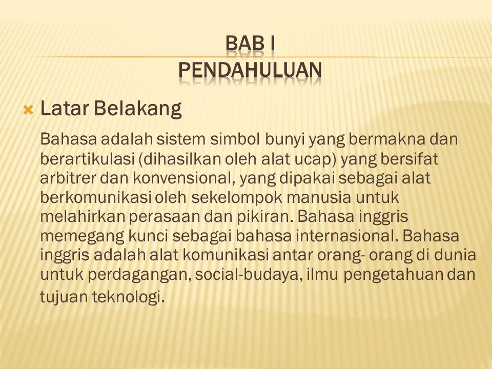  Subjek Penelitian Penelitian ini menggunakan purposive sampling yang melibatkan Kepala Sekolah, guru-guru Bahasa Inggris, guru- guru Bimbingan dan Konseling (BK), siswa-siswa kelas VII SMP Negeri 1 Cilamaya Kulon, pada tahun ajaran 2013- 2014 dan peneliti sendiri.