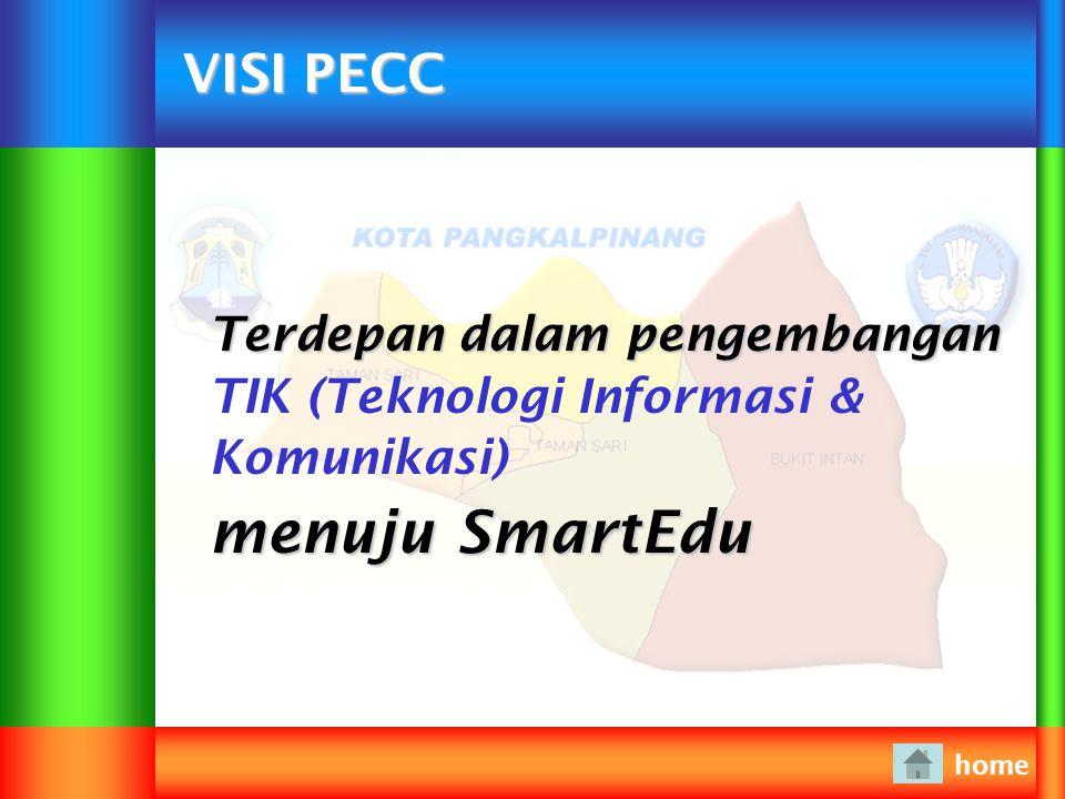 MISI PECC home Memasyarakatkan TIK dalam rangka mendorong terciptanya masyarakat berbasis pengetahuan dan teknologi.