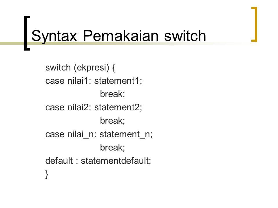 Contoh Program dengan IF jamak 1 // Fig.