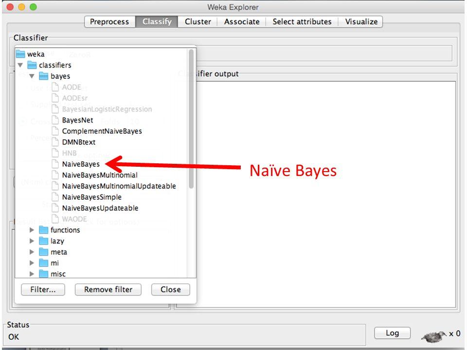 14 SMO ( implementasi SVM) Naïve Bayes