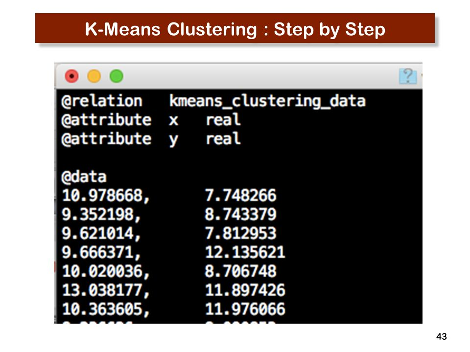 43 K-Means Clustering : Step by Step