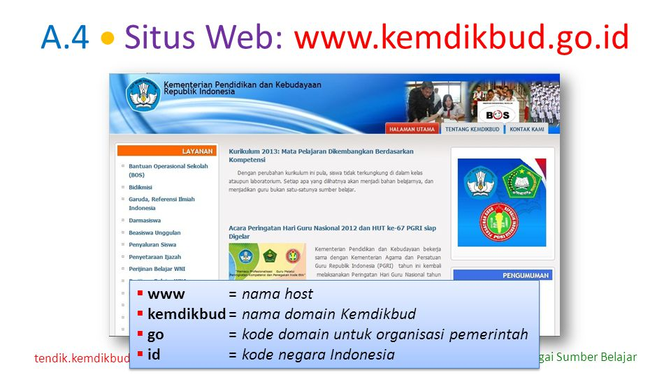 tendik.kemdikbud.go.id Internet sebagai Sumber Belajar D.3.9  Menanggapi Tulisan di Milis