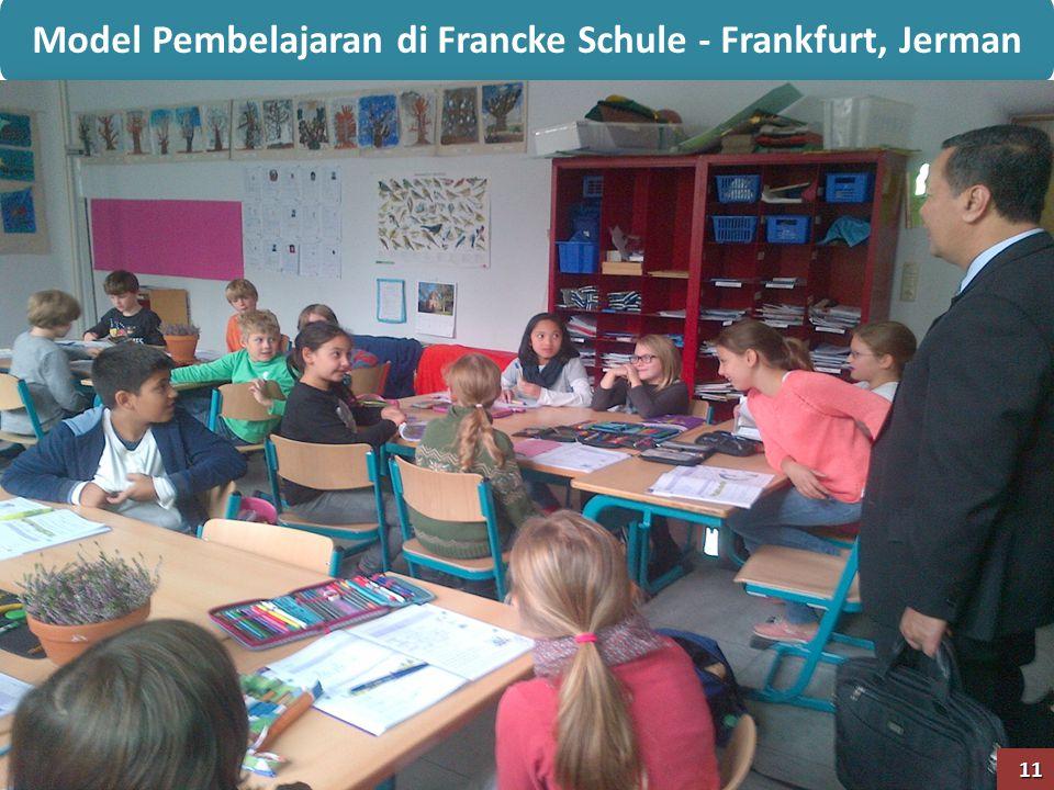 Model Pembelajaran di Francke Schule - Frankfurt, Jerman 11