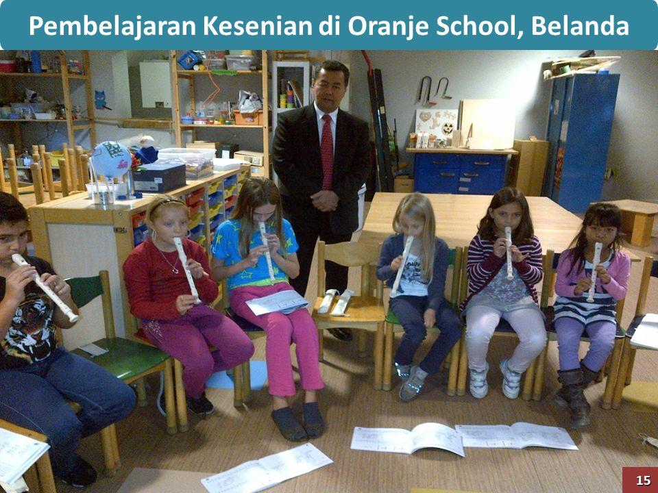 Pembelajaran Kesenian di Oranje School, Belanda15