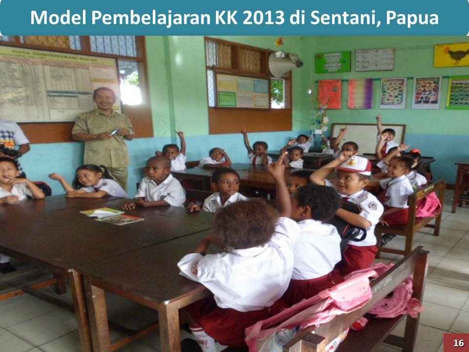 Model Pembelajaran KK 2013 di Sentani, Papua 16