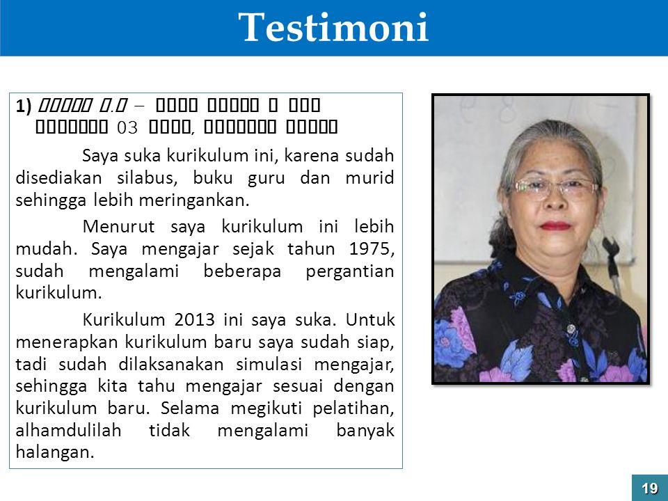 Testimoni 1) Denny H.