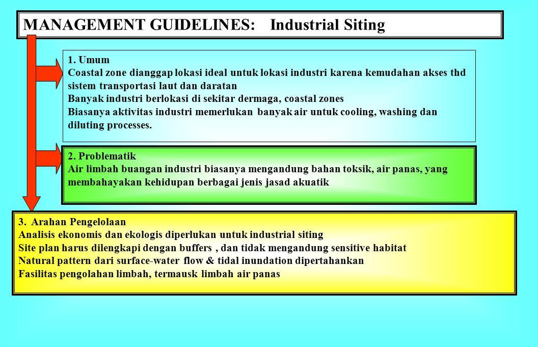 MANAGEMENT GUIDELINES: Urban Development 1.