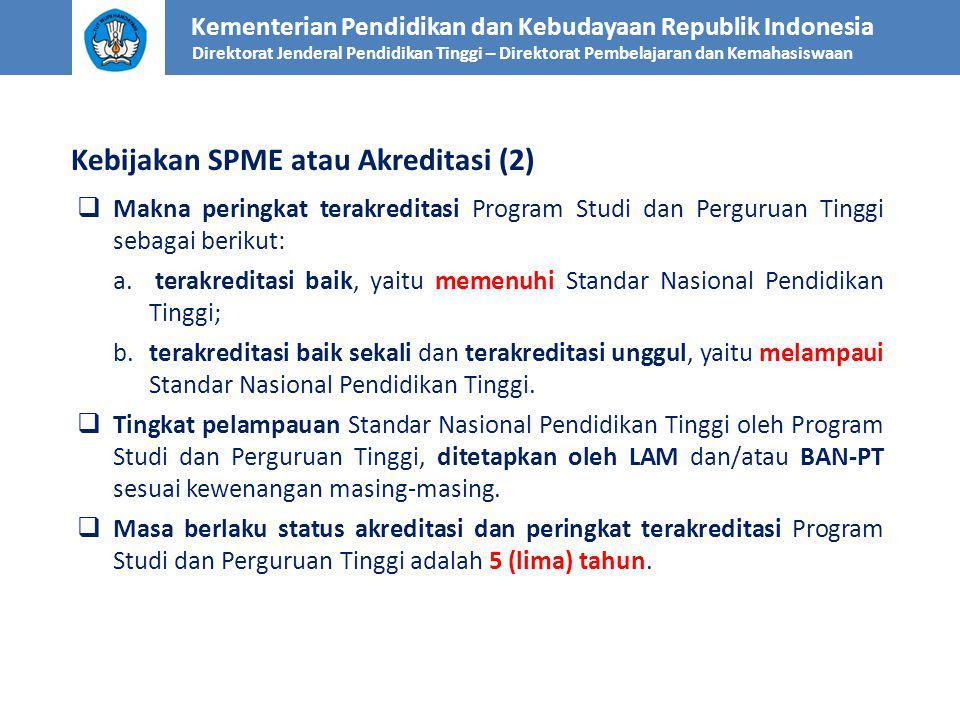  Tahap Pemantauan Status dan Peringkat Terakreditasi meliputi langkah: a.
