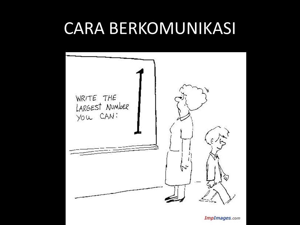 CARA BERKOMUNIKASI