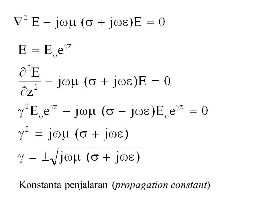 Konstanta penjalaran (propagation constant)
