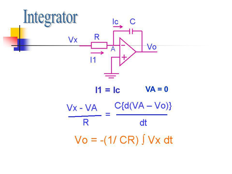 I1 = Ic VA = 0