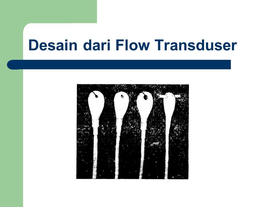 Dalam prakteknya, bahan tranduser elektromagnetik terbuat dari bahan nonmagnetik untuk memastikan agar fluksmagnetik tidak melewati aliran dan jatuh ke dasar alat.