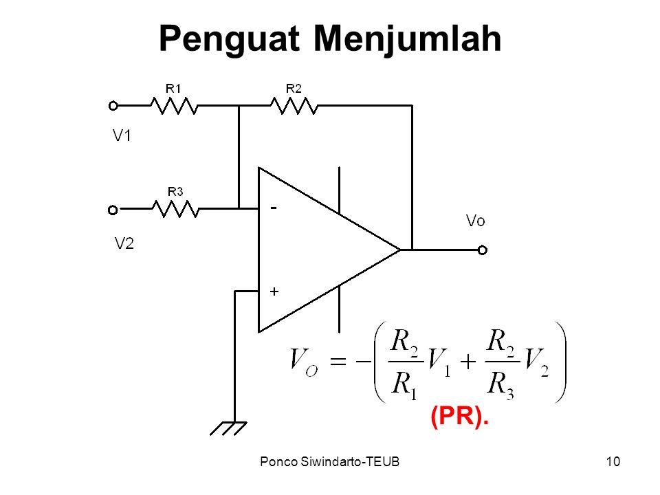 Ponco Siwindarto-TEUB10 Penguat Menjumlah (PR).