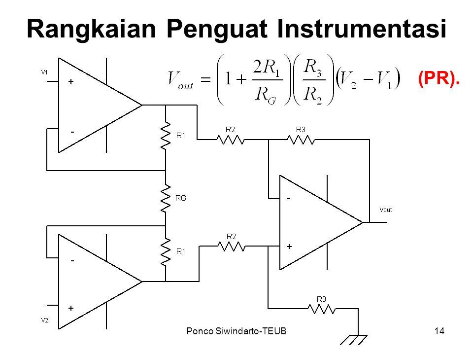 Ponco Siwindarto-TEUB14 Rangkaian Penguat Instrumentasi (PR).