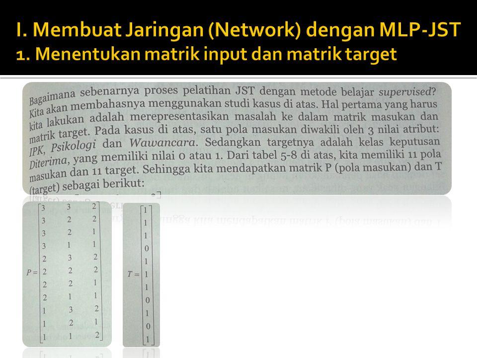  Input data merupakan beberapa himpunan observasi yang bisa terdiri dari beberapa inputan.