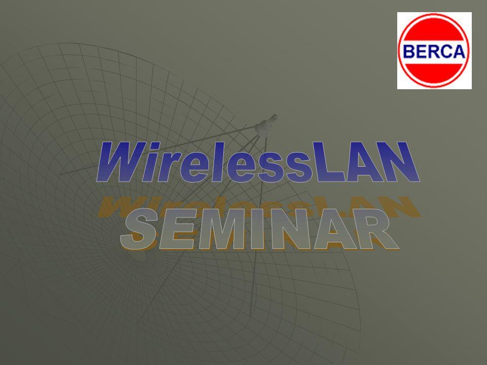 Studi Kasus WLAN 2 Contoh pada SME User yang berpindah-pindah ( Lebih dari 40 pengguna wireless) Banyak transfer data ( SAP, CRM, Presentation…) Termasuk tamu agar dapat melakukan koneksi internet Pimpinan dapat memonitoring jaringan