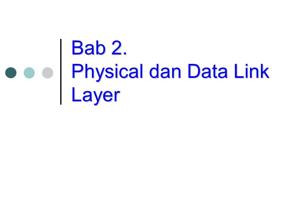 Error Detection: Cyclic Redundancy Check (CRC) Misalkan data, D, dalam bentuk bit.
