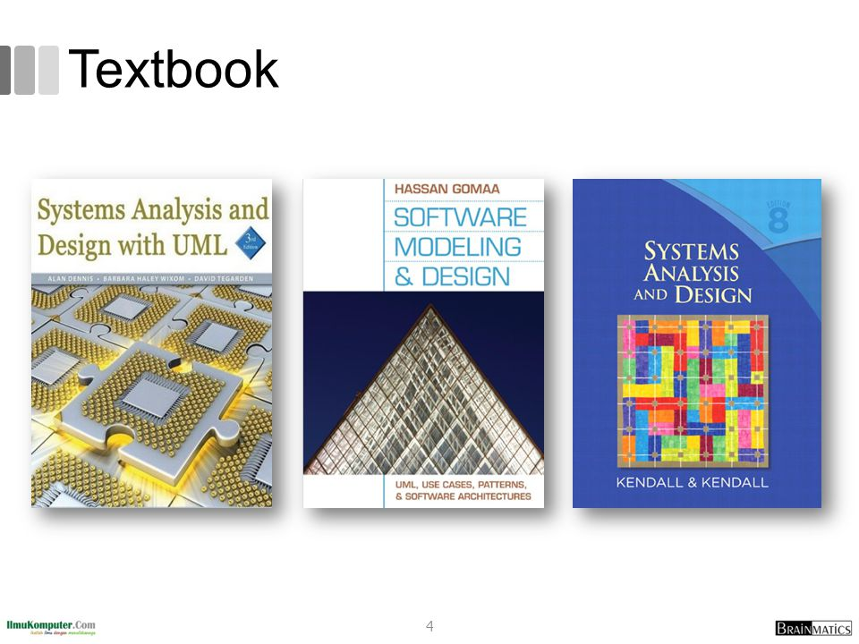 Referensi 1.Alan Dennis et al, Systems Analysis and Design with UML 4 th Edition, John Wiley and Sons, 2013 2.Kenneth E.