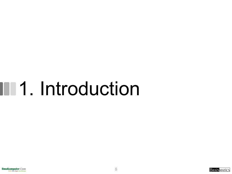 SepedaBeraksi.java public class SepedaBeraksi{ public static void main(String[] args) { Sepeda sepedaku = new Sepeda(); sepedaku.setGir(1); /* Variabel bisa diubah atau tidak sengaja diubah.
