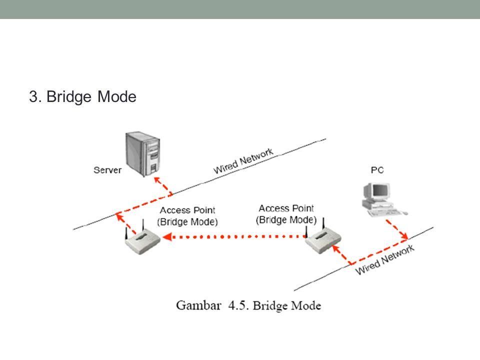 3. Bridge Mode