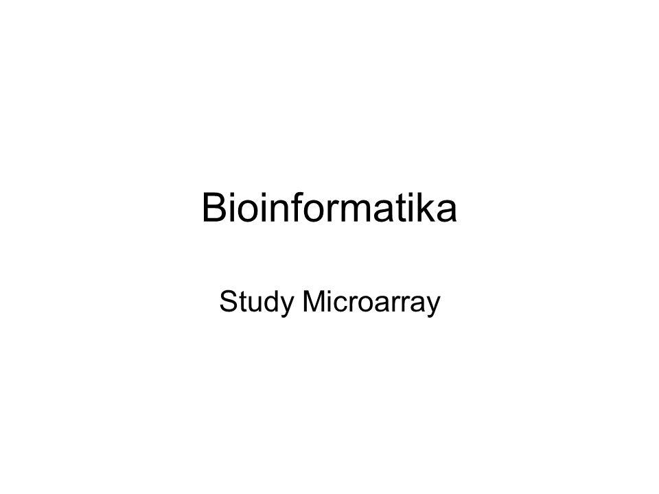 Bioinformatika Study Microarray