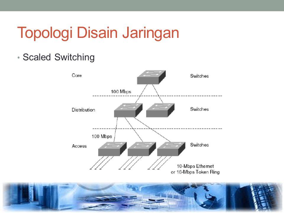 Topologi Disain Jaringan Scaled Switching