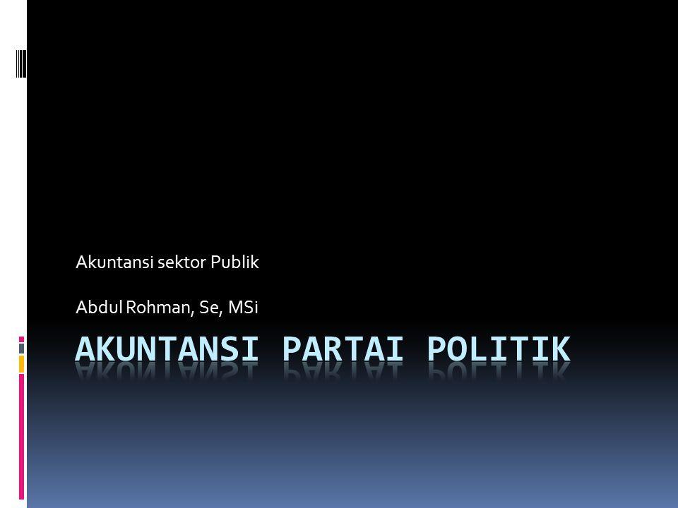 Akuntansi sektor Publik Abdul Rohman, Se, MSi