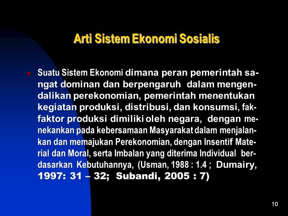 9 Kelemahan Sistem Ekonomi Kapitalis Sulit melakukan pemerataan pendapatan. Sulit melakukan pemerataan pendapatan. Cenderung terjadi eksploitasi kaum