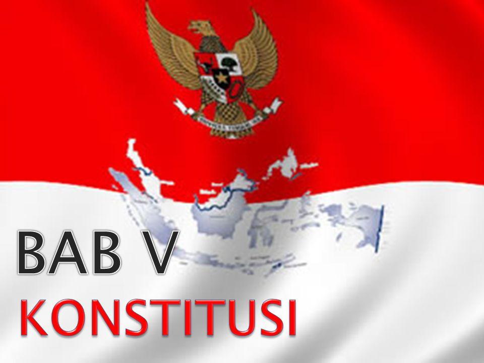 Mekanisme perubahan konstitusi di Indonesia sebagaimana terdapat pada pasal 37 UUD 1945,yaitu:  Mengubah UUD sekurang-kurangnya 2/3 daripada jumlah anggota MPR harus hadir  Putusan diambil dengan persetujuan sekurang- kurangnya 2/3 jumlah anggota yang hadir.