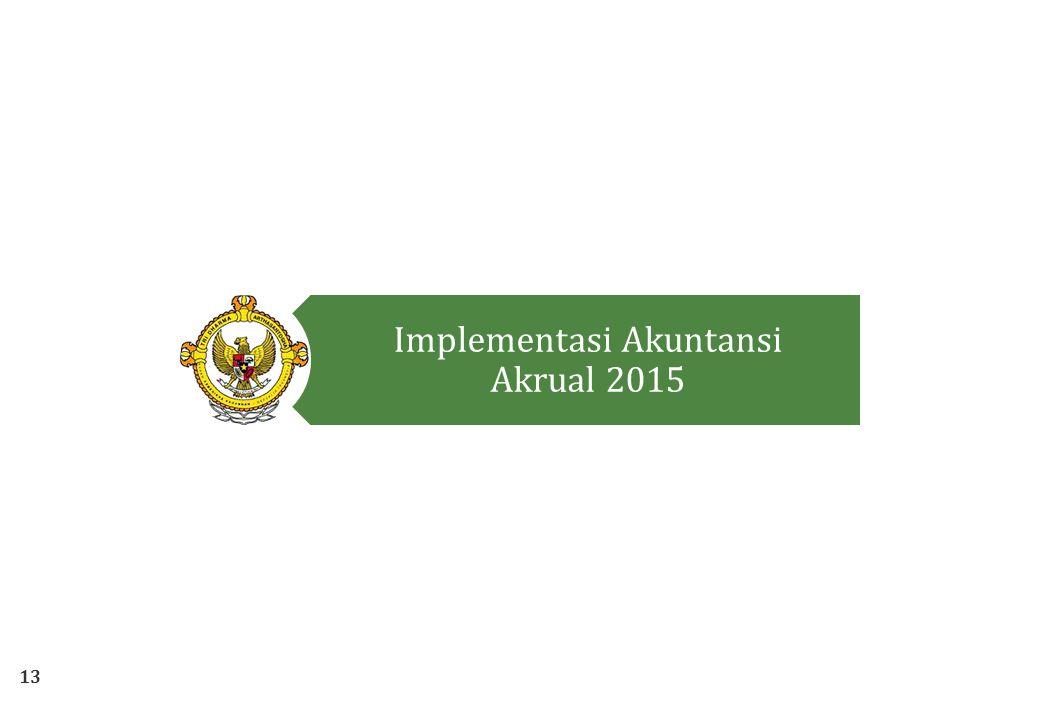 13 Implementasi Akuntansi Akrual 2015