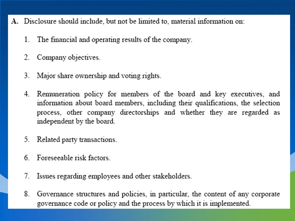 What Internal Control Can Not Do: Internal control cannot change an inherently poor manager into a good one.