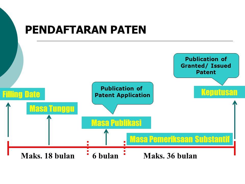New Inventive Informasi Paten + = Informasi Teknologi Patent Information is the latest information in the field of technology