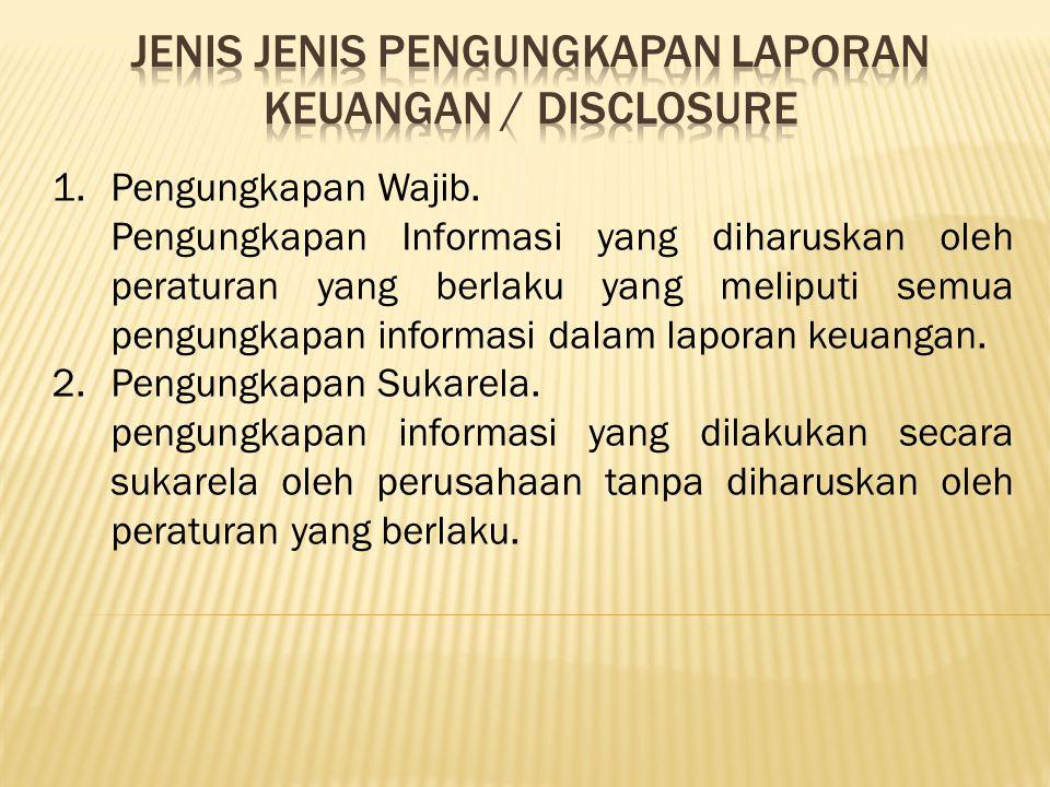 1.Untuk menguraikan informasi yang disajikan dalam laporan keuangan.
