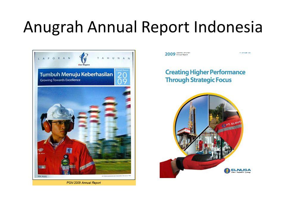 Anugrah Annual Report Indonesia